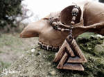 Valknut necklace - Odin's knot