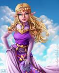 Princess Zelda - Commission