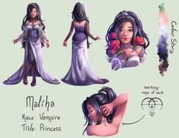 Ref Sheet - Maliha for orionfantasy