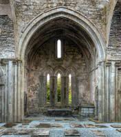 Corcomroe Abbey by MisterKrababbel