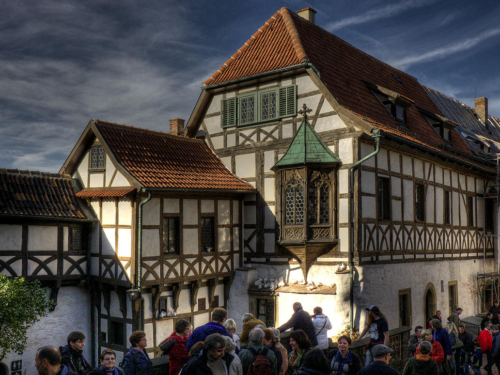 Wartburg castle 02 by MisterKrababbel
