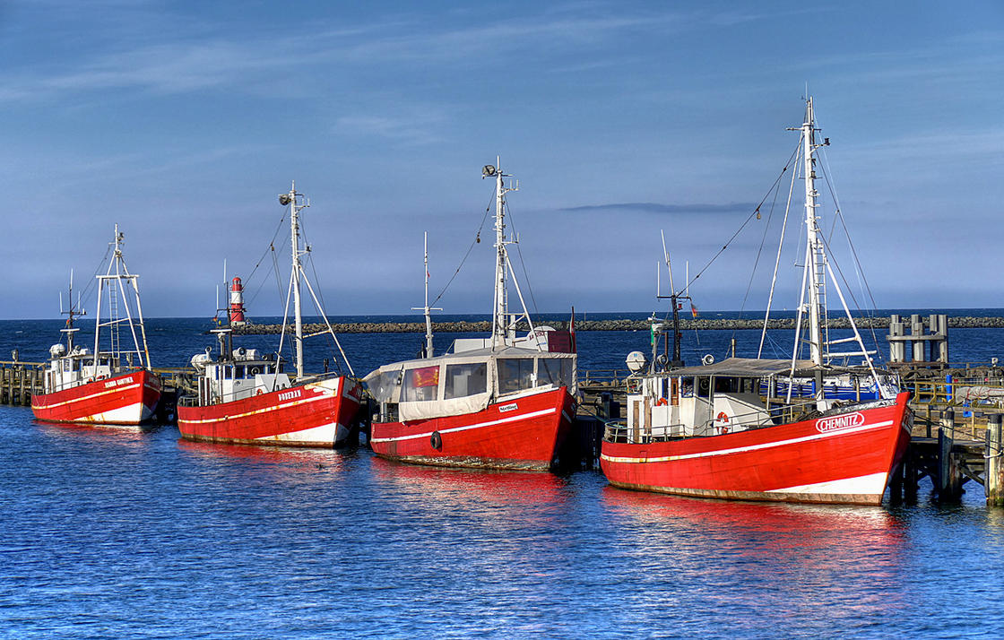 Old Fishing Boats by MisterKrababbel