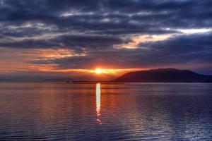 Alaskan Sunset by MisterKrababbel