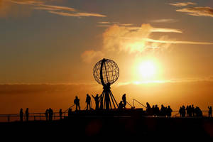 Golden Midnight Sun by MisterKrababbel