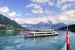 Cruising Lake Lucerne