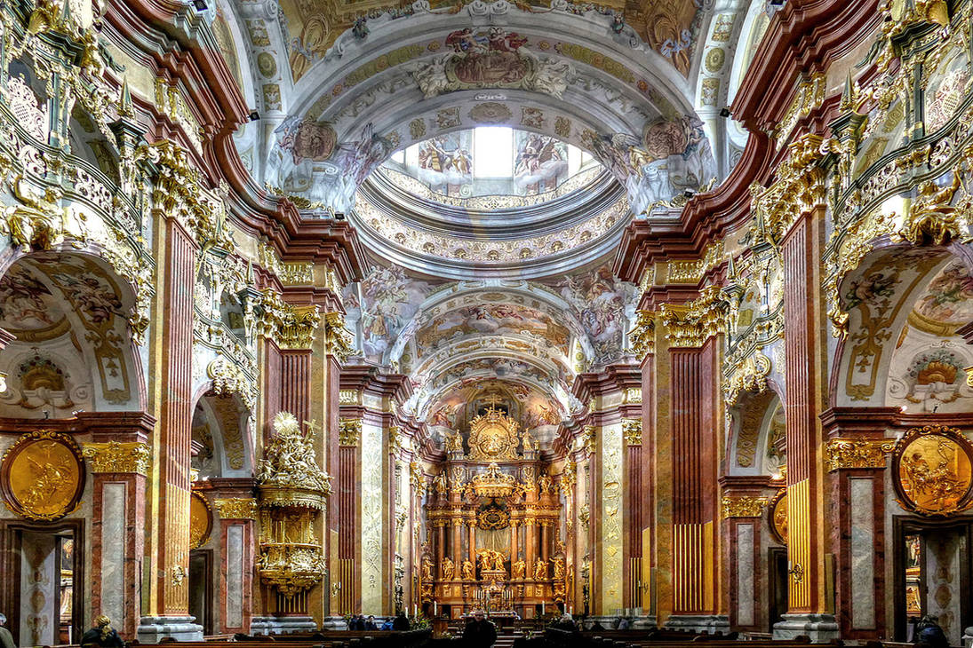Melk Abbey by MisterKrababbel