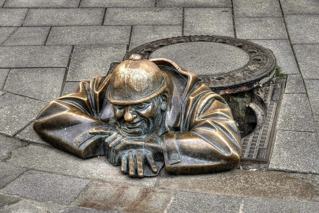 Man At Work by MisterKrababbel
