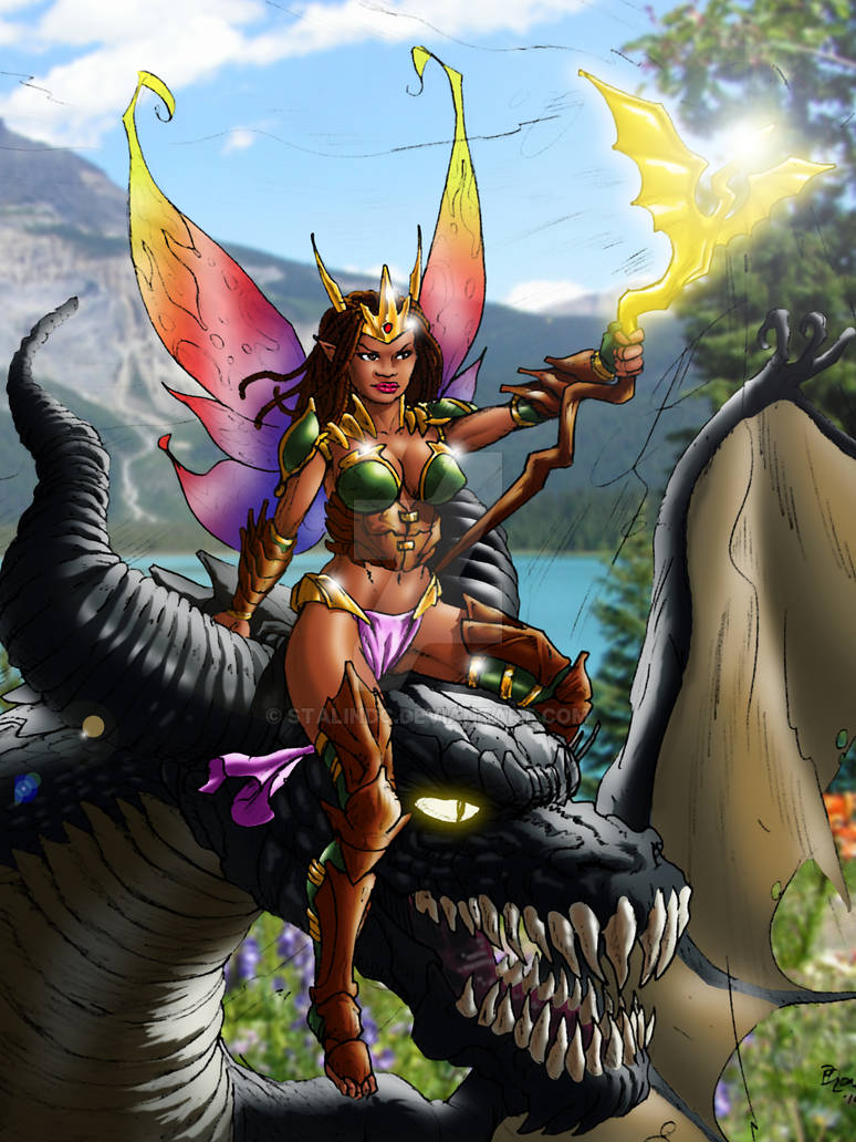 Josara the Fairy and her Dragon