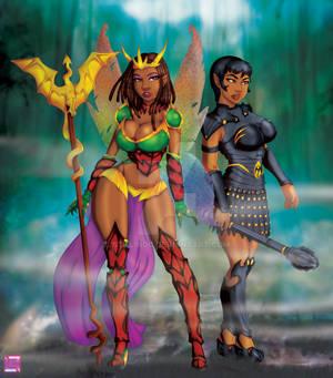 Battle's End... Josara and Tameris...