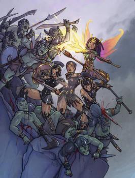 Send us more Orcs! Josara and the Black Dragons