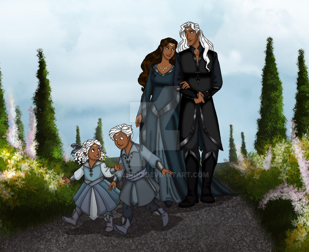 Royal Family of Khoi by StalinDC