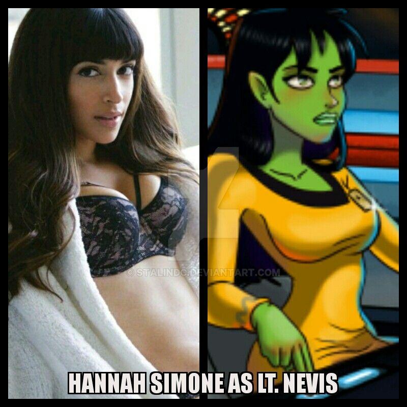 Hannah Simone as Lt Nevis by StalinDC