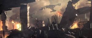 Klingon attack 2256 by StalinDC