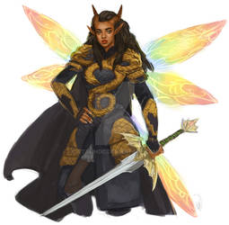 Josia Dragonsclaw the Golden Dragon! by StalinDC