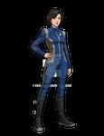 Lt. Commander Hisa Namura.. USS POTEMKIN 2256