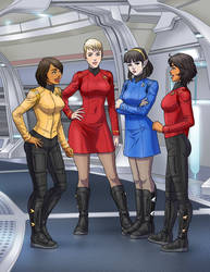 Back on Board with New Uniforms! by StalinDC