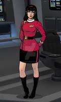 Captain T'Var in 2295