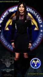 Lieutenant Tia Chen.. HQ 99th Starfighter Group