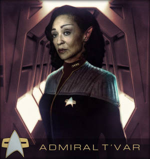 Admiral T'Var in Late 2374 Early 2375