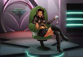 Valeris.. In Her Ready Room!