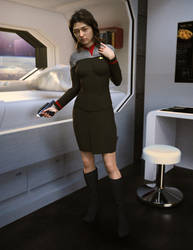 Ensign Kina Deir.. Heading To The Holodeck! by StalinDC