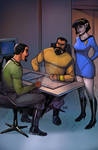 Briefing The Admiral.. What The Romulans Want
