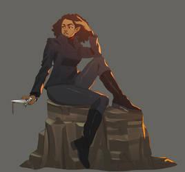 Mirror Shards.. Ella..Terran Resistance 2374 by StalinDC