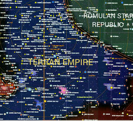 MIRROR UNIVERSE.. TERRAN EMPIRE At Its Height.