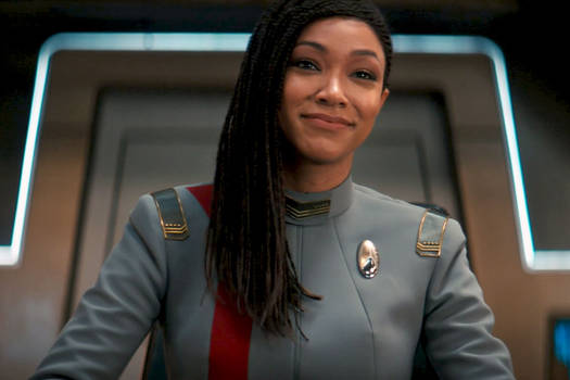 Let's Fly! Captain Michael Burnham.. USS DISCOVERY
