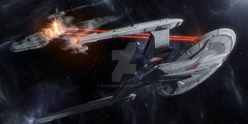Predator VS Prey..ISS MARAUDER Slashes Rebels! by StalinDC