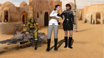 First Contact.. Admiral T'Var Takes A Tour! by StalinDC