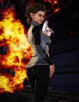 Mirror T'Nora.. Agent Of Mayhem.Terran Rebellion by StalinDC