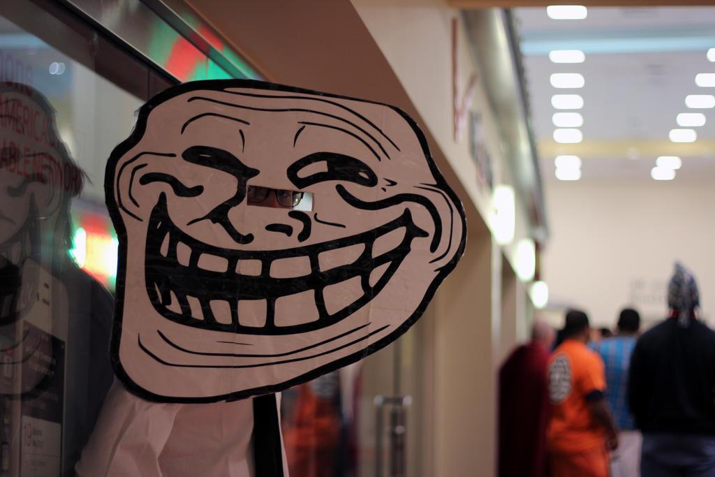Keep on Trolling my friend.... by geekypandaphotobox