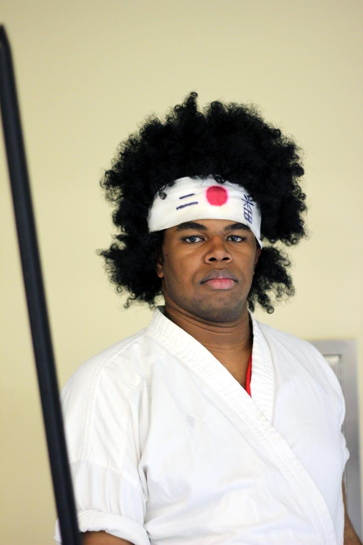 Afro Samurai! by geekypandaphotobox