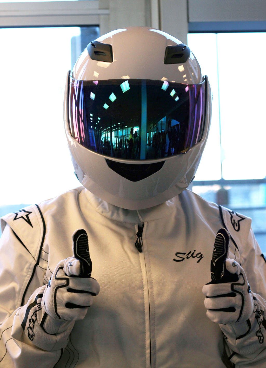The Stig by geekypandaphotobox
