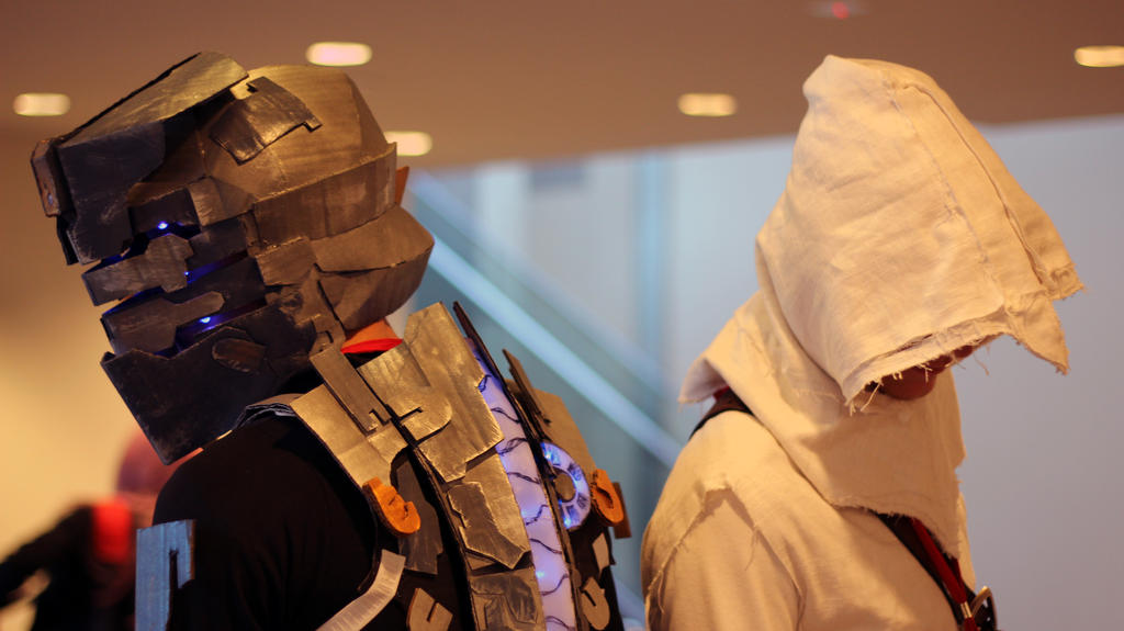 Isaac and Altair by geekypandaphotobox