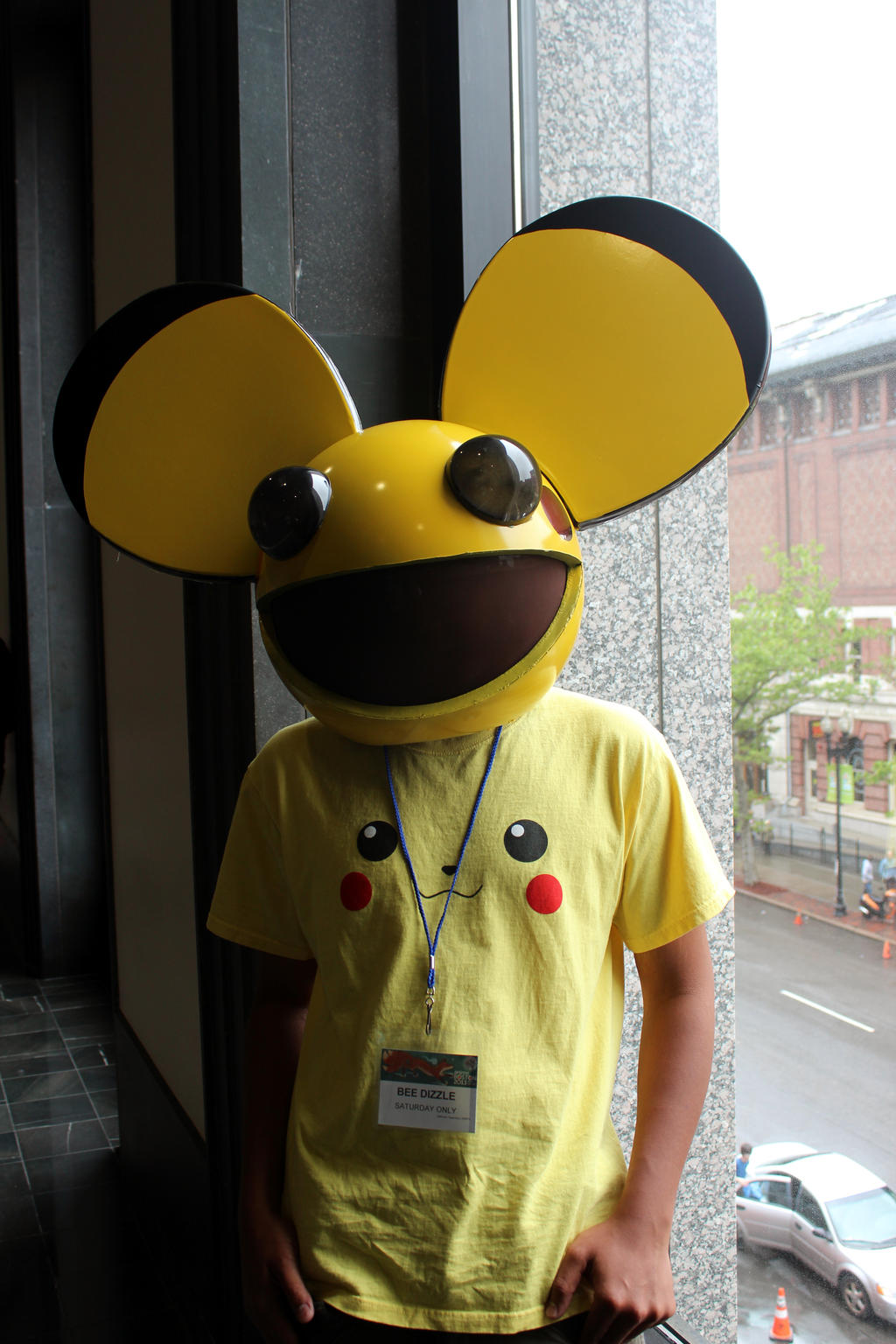 Deadmau5 Meets Pikachu by geekypandaphotobox