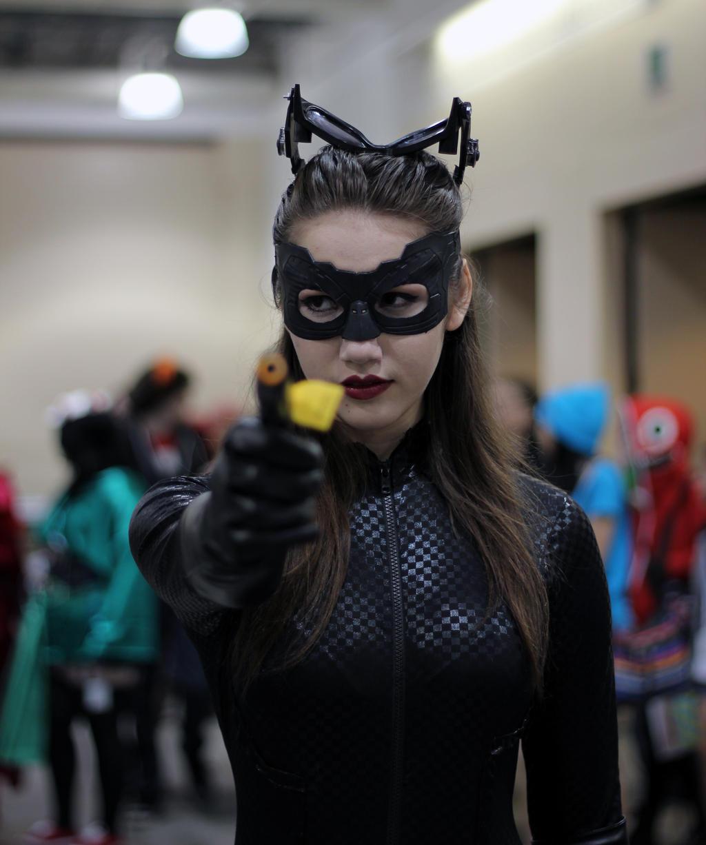 Catwoman (TDKR Version) by geekypandaphotobox