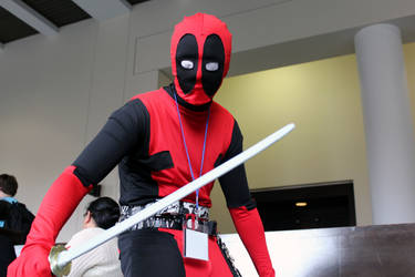 One of Many Deadpools at Anime Boston 2013! by geekypandaphotobox