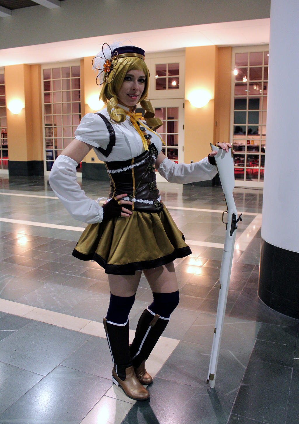 Mami Tomoe Anime Boston 2013 by geekypandaphotobox