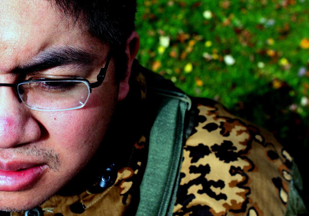 Self Portrait HW #2 by geekypandaphotobox