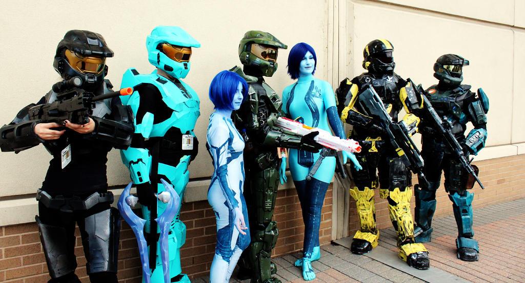Halo Group Shot by geekypandaphotobox