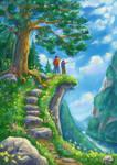 Mountain Hike by rosinka
