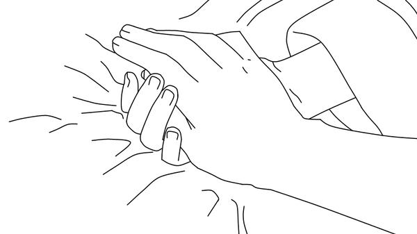 holding hands lineart by mewlightkitten on deviantart