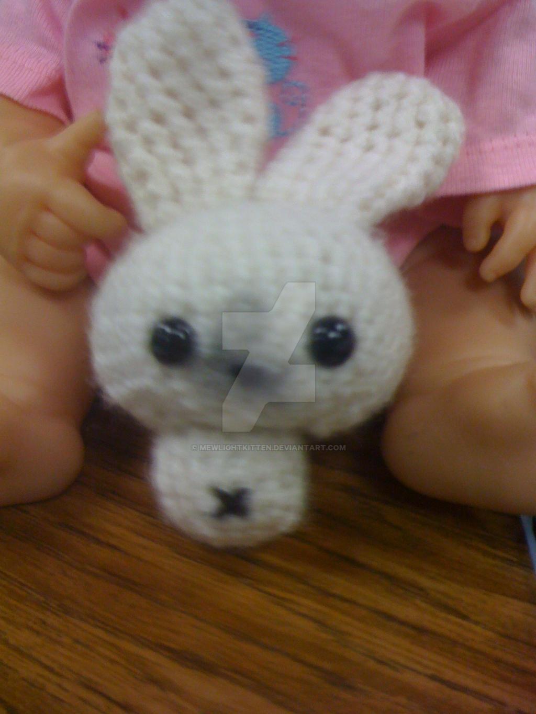 Amigurumi Mini Bunny : Amigurumi Mini Bunny by MewLightKitten on DeviantArt