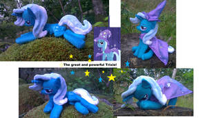 The great and powerful trixie! beanie edition