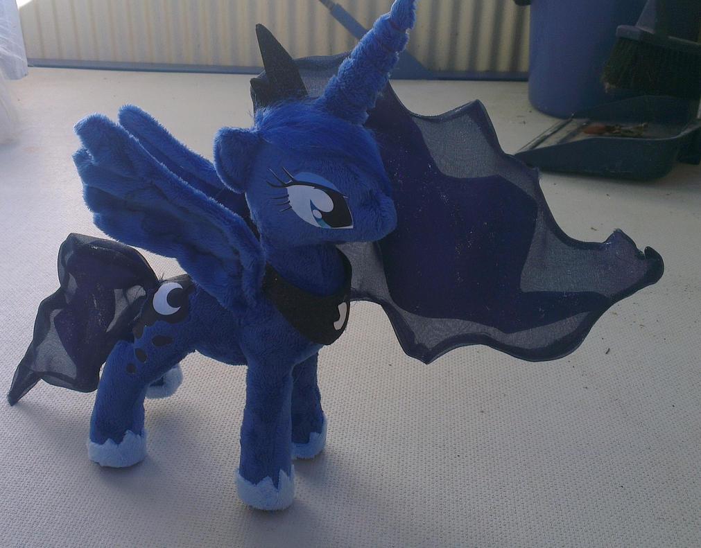 Princess luna plushie minky by Epicrainbowcrafts