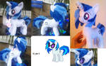 11 inch Dj pony / vinyl scratch