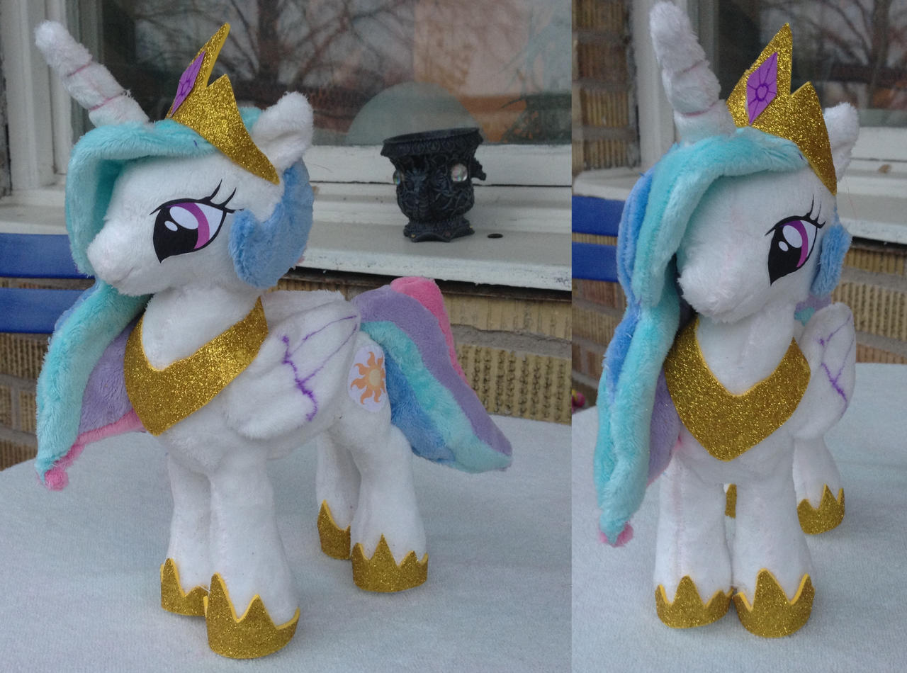 Princess celestia small/mini version by Epicrainbowcrafts