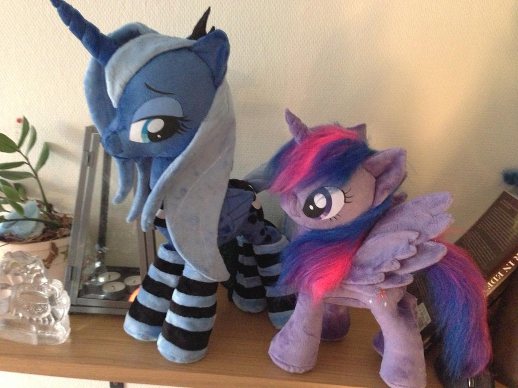 Luna and alicorn twilight by Epicrainbowcrafts